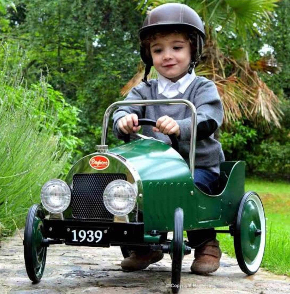Baghera 12 Mths Plus Pedal Car Green