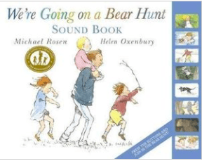 Beaglier Books 3 Plus We're Going on a Bear Hunt Sound Book  - M Rosen