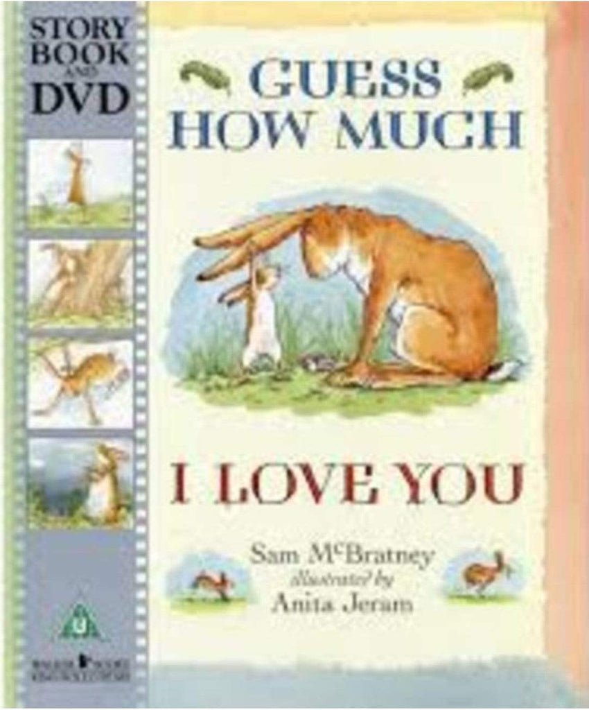 Beaglier Books Child Fiction 2 Plus Guess How Much I Love You, DVD - S. McBratney
