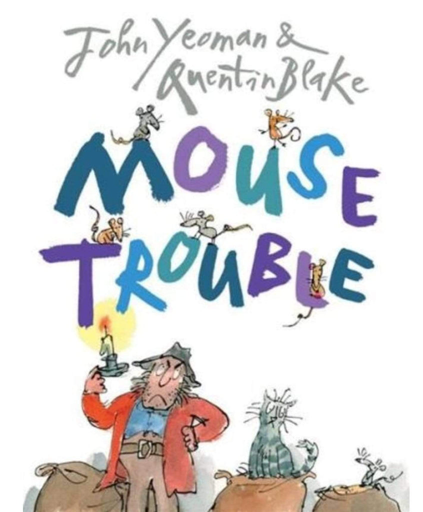 Beaglier Books Child Fiction 3 Plus Mouse Trouble - John Yeoman, Quentin Blake