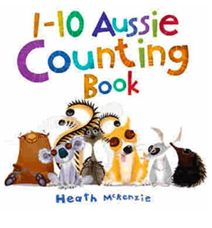 Black Dog Books 12 Mths Plus 1-10 Aussie Counting Book - Heath McKenzie