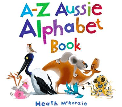 Black Dog Books 2 Plus A-Z Aussie Alphabet Book - Heath McKenzie