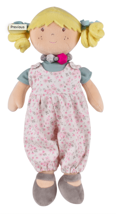 Bonikka 3 Plus Rag Doll - Lucy Bracelet Friend