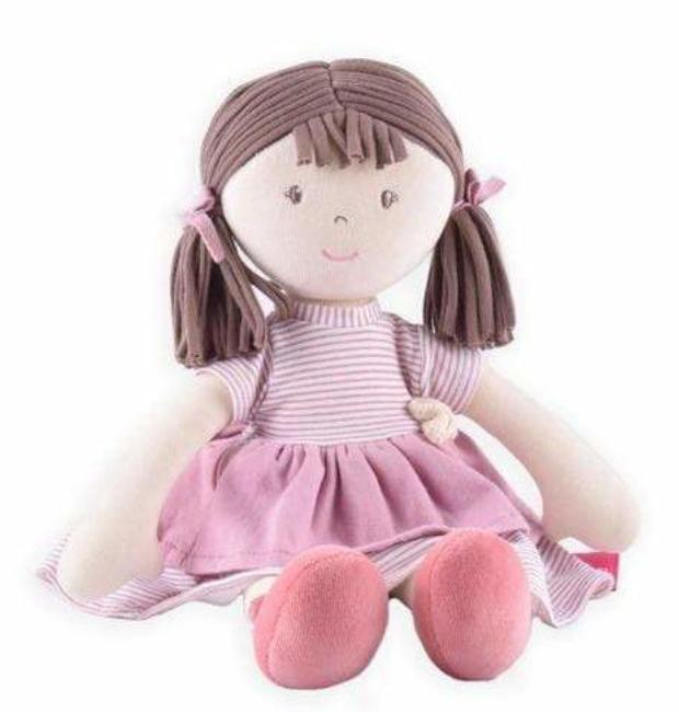 Bonikka Birth Plus Rag Doll - Brook Cotton Doll