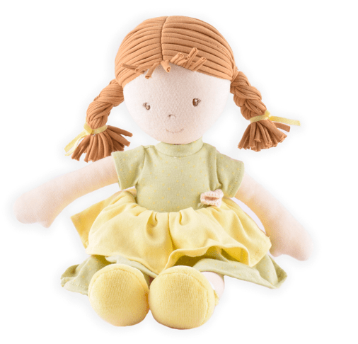 Bonikka Birth Plus Rag Doll - Honey Cotton Doll