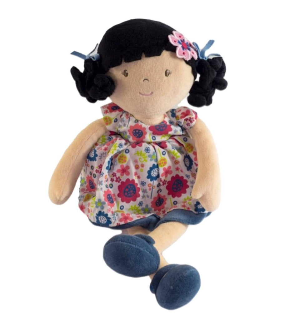Bonikka Birth Plus Rag Doll - Lilac Flower Kid Doll
