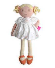 Bonikka Birth Plus Rag Doll - Linen - Priscy