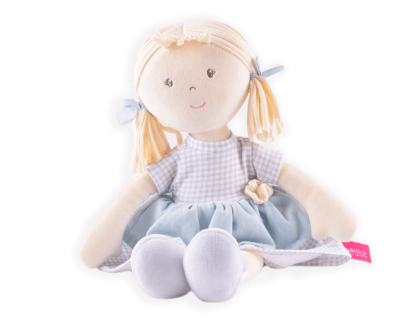 Bonikka Birth Plus Rag Doll - Neva Cotton Doll