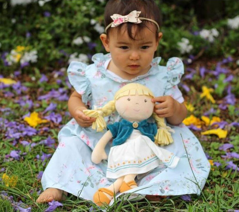 Bonikka Birth Plus Rag Doll Organic - Lily Doll