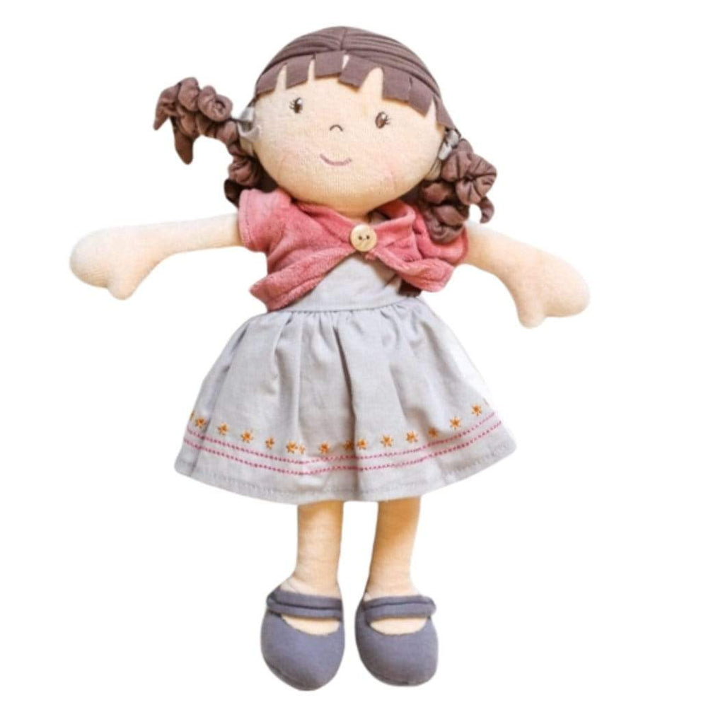 Bonikka Birth Plus Rag Doll Organic - Rose Doll