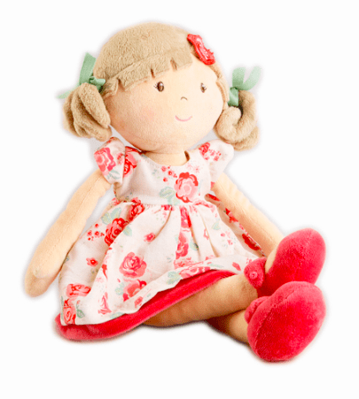 Bonikka Birth Plus Rag Doll - Scarlett Flower Kid Doll