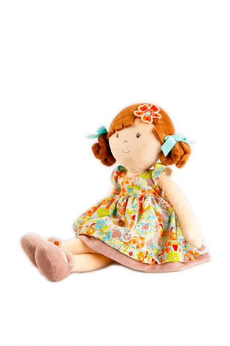 Bonikka Birth Plus Rag Doll - Summer Flower Kid Doll