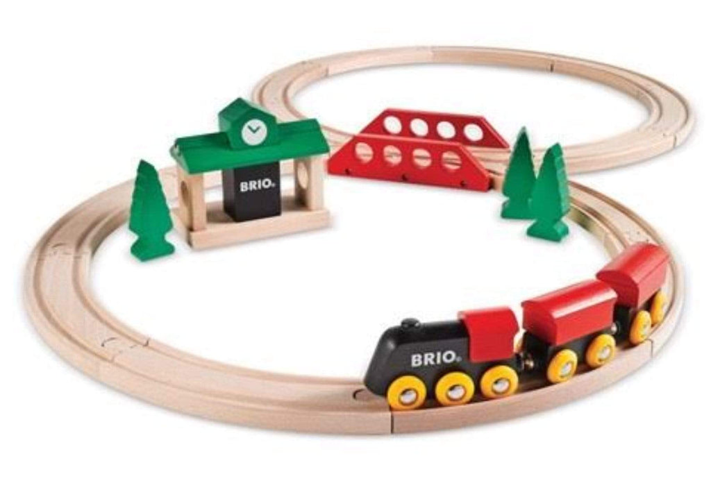 Brio 2 Plus Classic Figure 8 Train Set