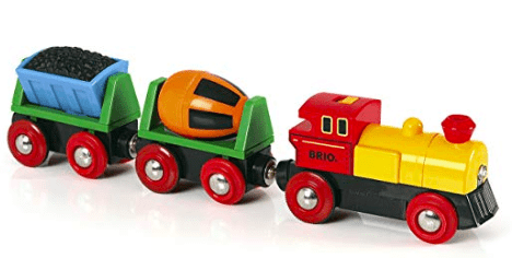 Brio 3 Plus Battery Operated Action Train