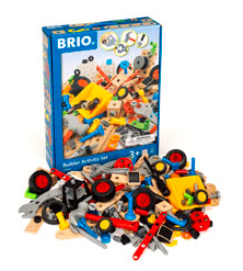 Brio 3 Plus Builder Activity Set - 211pc