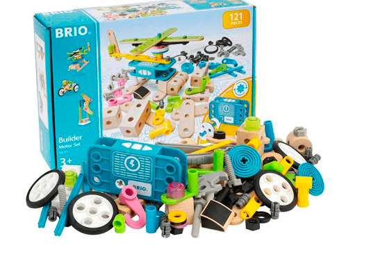 Brio 3 Plus Builder Motor Set