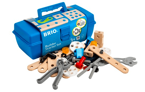 Brio 3 Plus Builder Starter Set 49pc