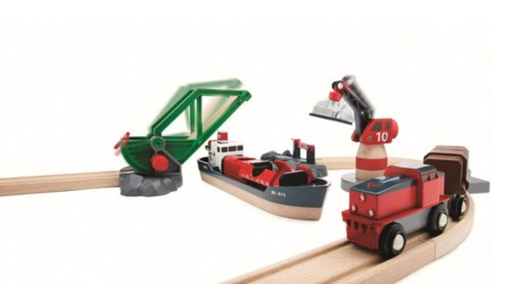 Brio 3 Plus Cargo Harbour Set