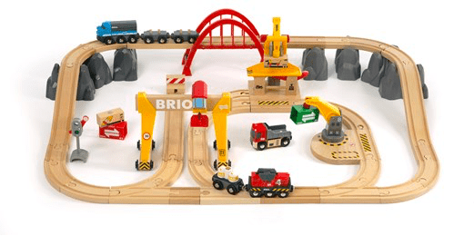 Brio 3 Plus Cargo Railway Deluxe Set