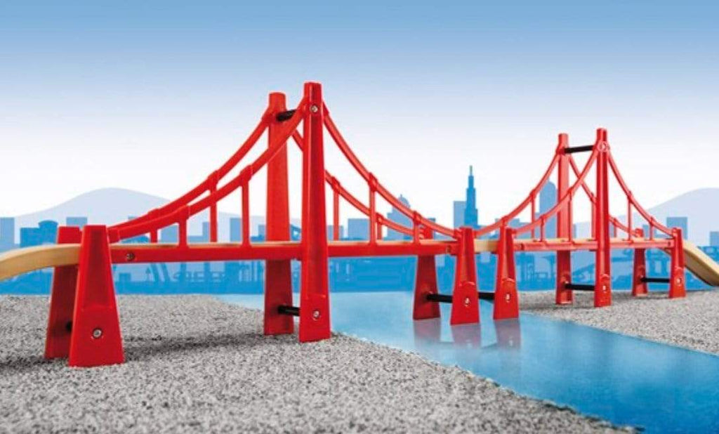 Brio 3 Plus Double Suspension Bridge