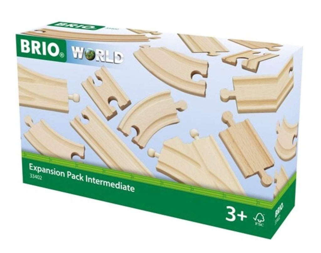 Brio 3 Plus Expansion Pack Intermediate - 16pc
