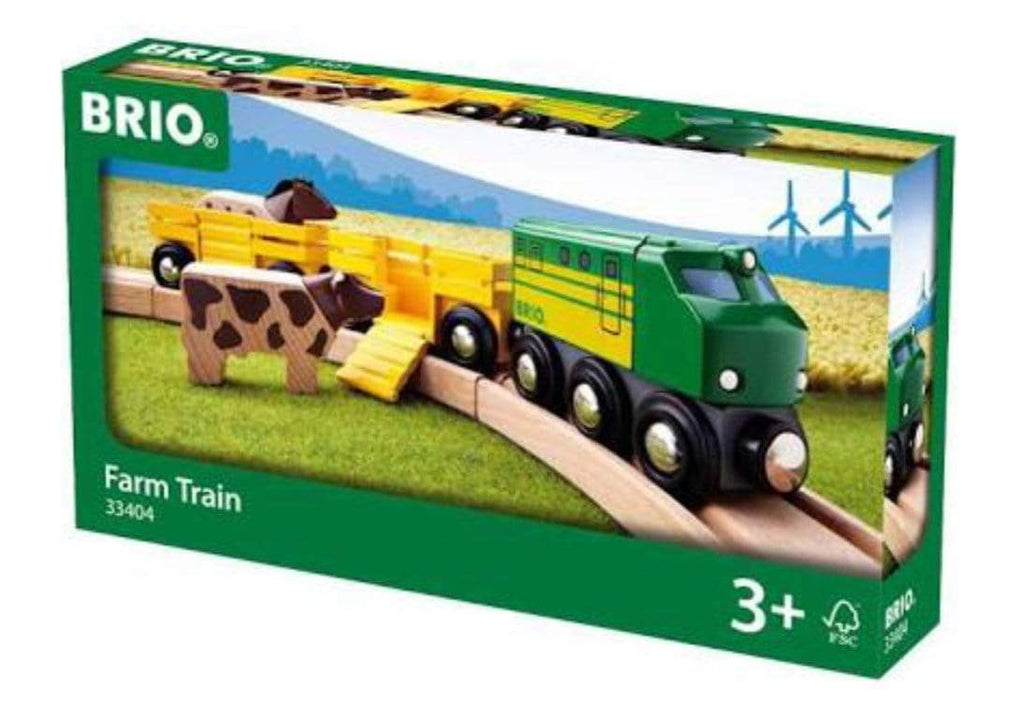 Brio 3 Plus Farm Train