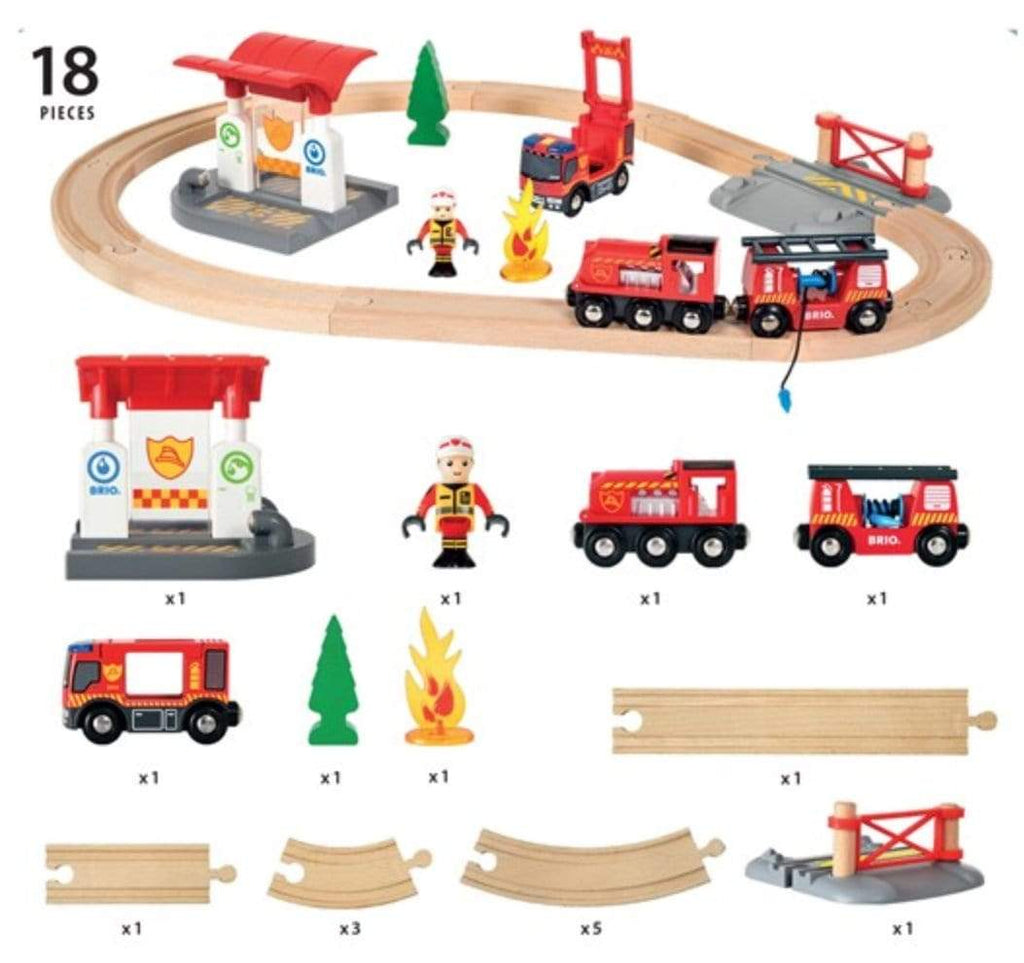 Brio 3 Plus Firefighter Set