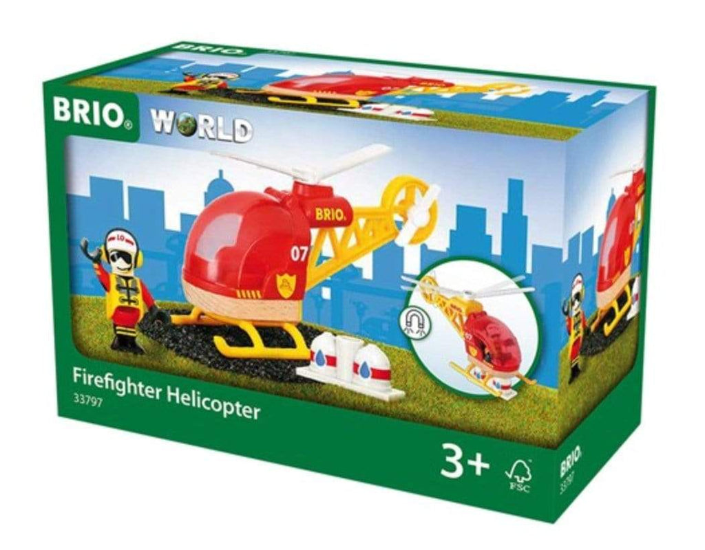 Brio 3 Plus Firefighting Helicopter