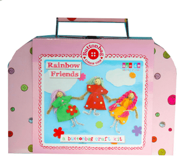 Buttonbag 4 Plus Rainbow Friends