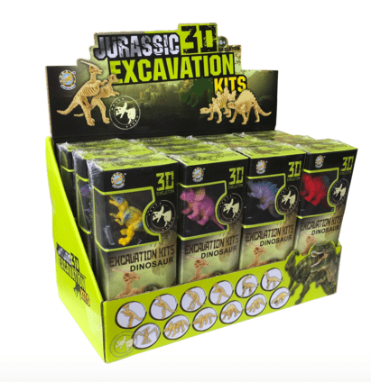 Discover Science 6 Plus Jurassic 3D Excavation Kits