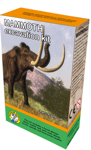 Discover Science 8 Plus Mammoth Excavation Kit