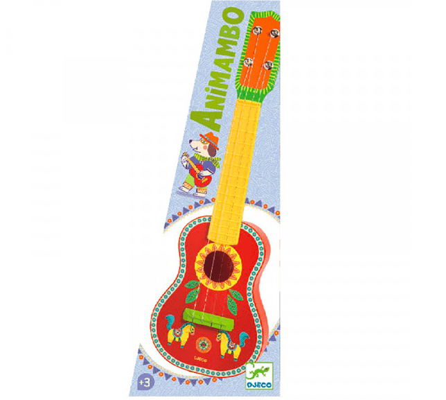 Djeco 3 Plus Animambo - Ukulele