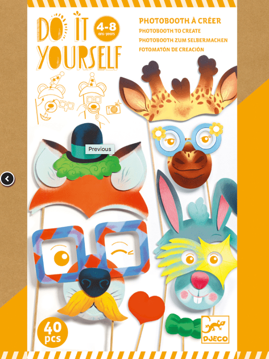 Djeco 4 Plus Do It Yourself Animal Party