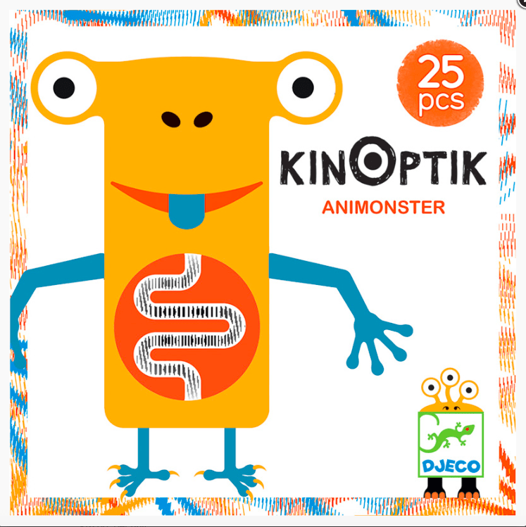 Djeco 5 Plus Kinoptik - Animonster 25 Pcs