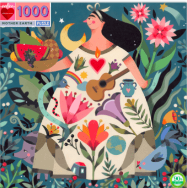 eeBoo 10 Plus 1000 Pc Puzzle - Mother Earth