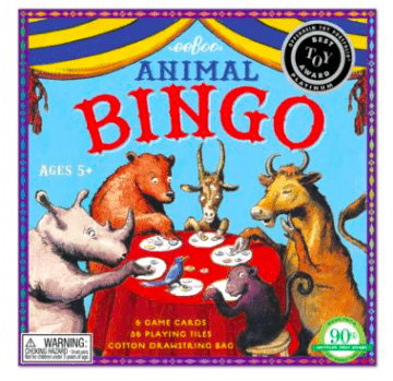 eeBoo 5 Plus Animal Bingo