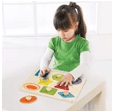 Ever Earth 18 Mths Plus Peg Shape Puzzle