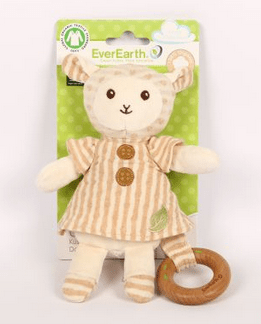Ever Earth Birth Plus Plush Lamb