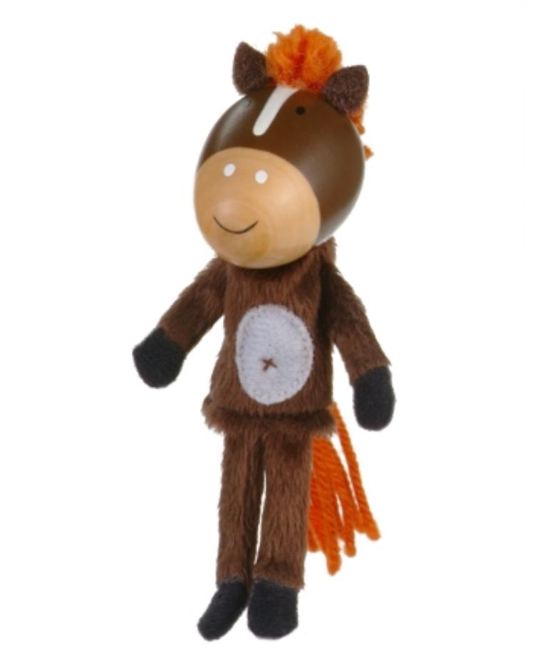 Fiesta Crafts 3 Plus Finger Puppet - Animal - Horse
