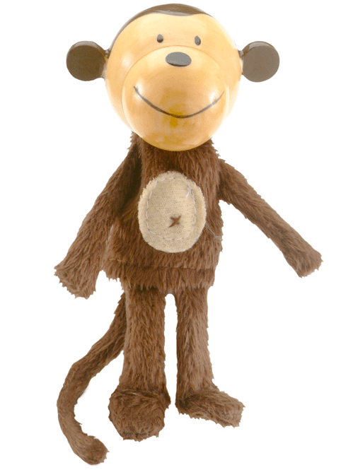 Fiesta Crafts 3 Plus Finger Puppet - Animal - Monkey
