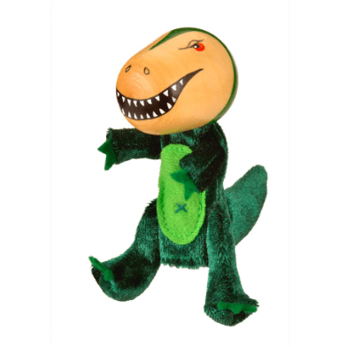 Fiesta Crafts 3 Plus Finger Puppet - Animal - T Rex