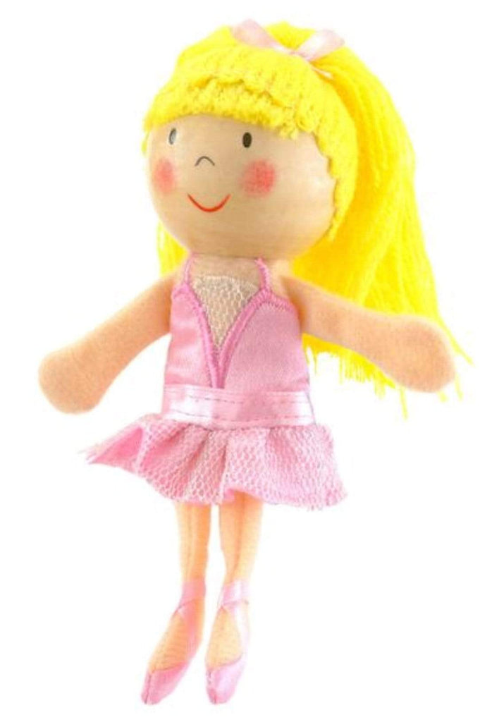 Fiesta Crafts 3 Plus Finger Puppet - People - Ballerina
