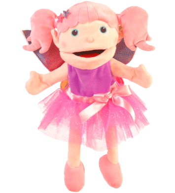 Fiesta Crafts 3 Plus Hand Puppet - Fairy