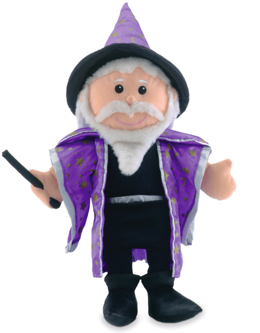 Fiesta Crafts 3 Plus Hand Puppet - Merlin
