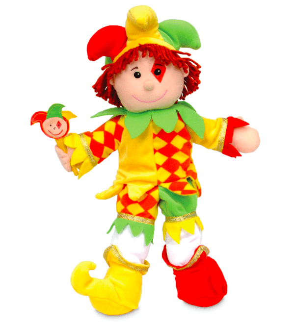 Fiesta Crafts 3 Plus Hand Puppet - People - Jester