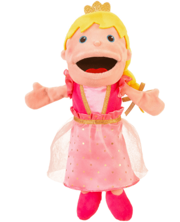 Fiesta Crafts 3 Plus Hand Puppet - Princess