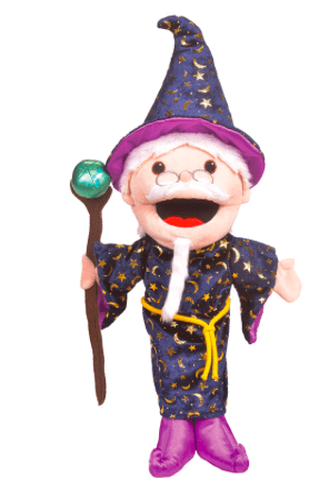 Fiesta Crafts 3 Plus Hand Puppet - Wizard