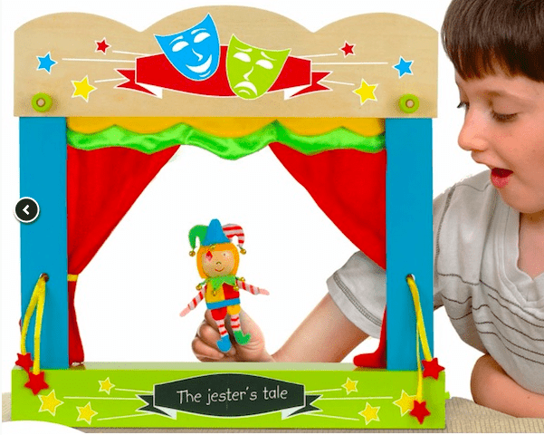 Fiesta Crafts 4 Plus Finger Puppet - Theatre