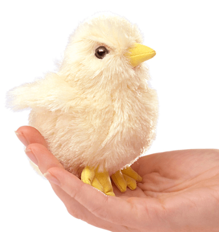 Folkmanis 3 Plus Finger Puppet - Chick