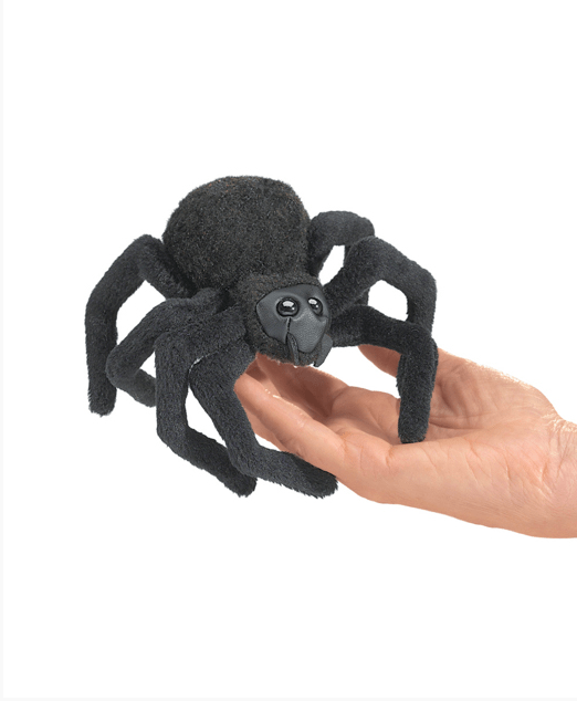 Folkmanis 3 Plus Finger Puppet - Insect - Spider